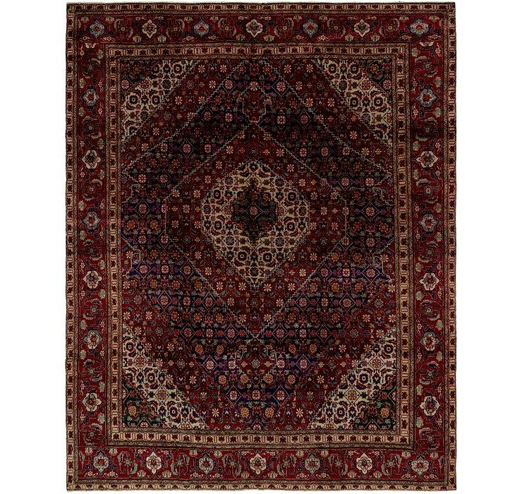 9' 10 x 12' 3 Tabriz Persian Rug