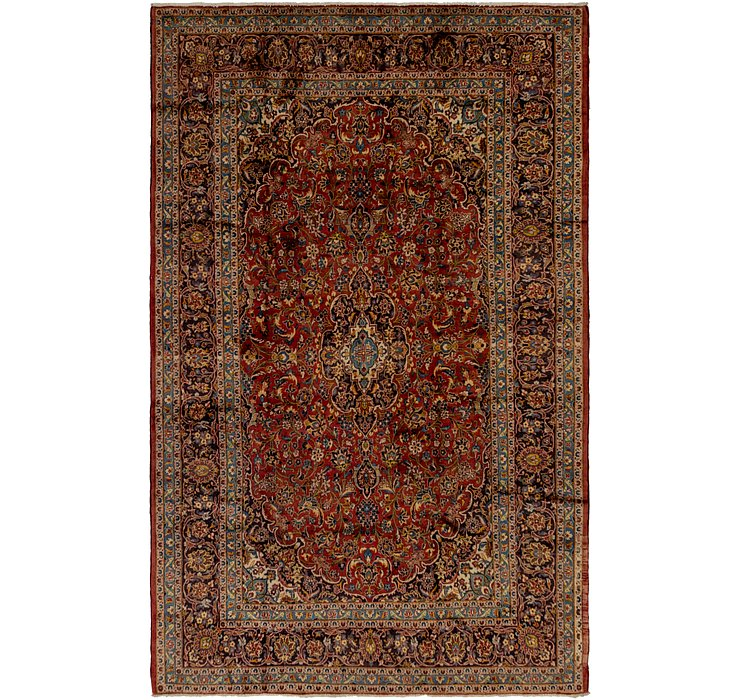 HandKnotted 8' x 12' 7 Kashan Persian Rug