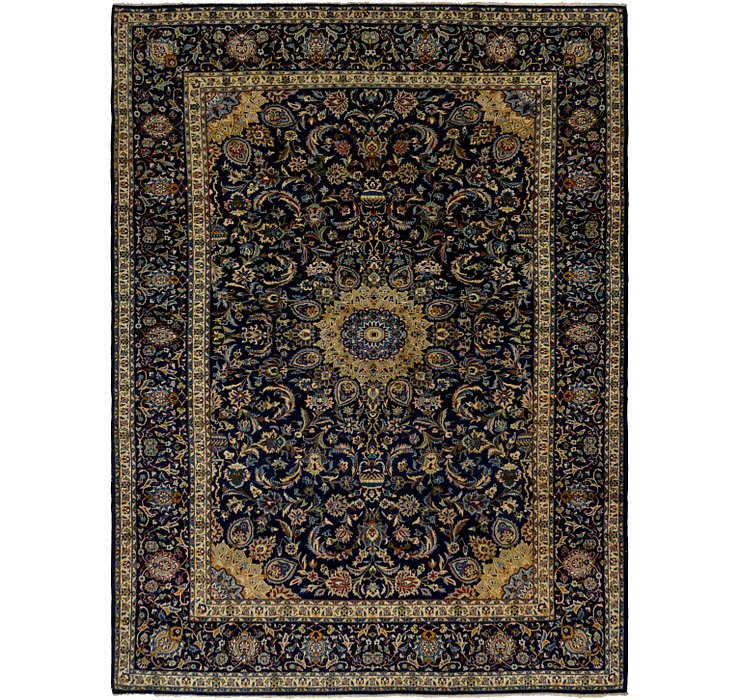 10' x 13' 8 Isfahan Persian Rug