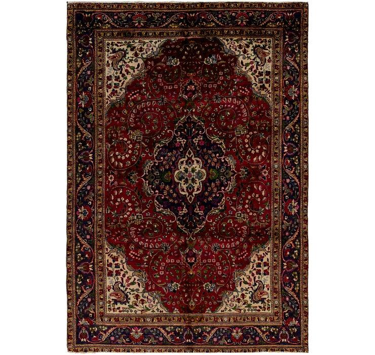 6' 9 x 10' Tabriz Persian Rug