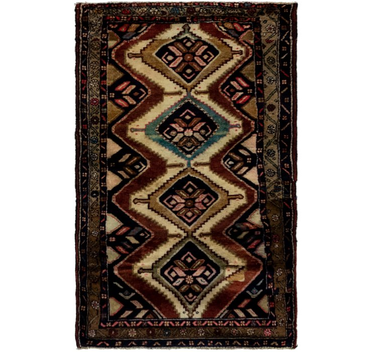 102cm x 165cm Chenar Persian Rug
