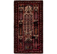 Link to 97cm x 173cm Balouch Persian Rug