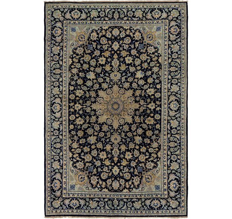 HandKnotted 8' 7 x 12' 10 Kashan Persian Rug