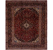Link to 9' 9 x 11' 7 Kashan Persian Rug