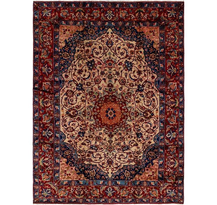 257cm x 360cm Isfahan Persian Rug