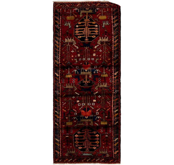 3' 3 x 8' 6 Hamedan Persian Runner ...