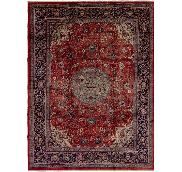 9' 9 x 13' 4 Sarough Persian Rug