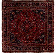 Link to 9' 4 x 9' 4 Mashad Persian Square Rug