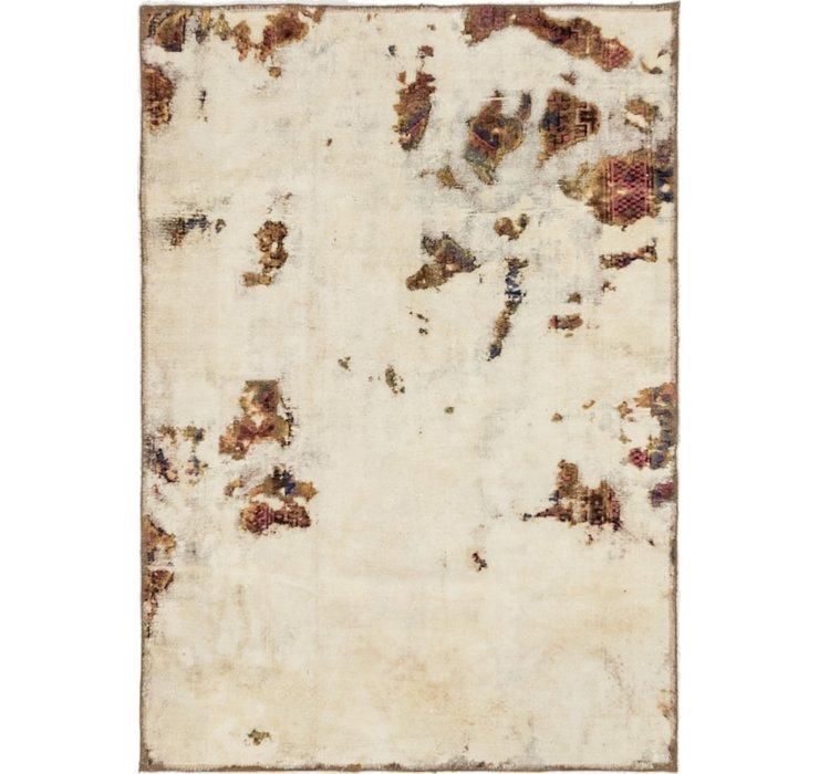 4' x 5' 9 Ultra Vintage Persian Rug