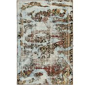 Link to 107cm x 163cm Ultra Vintage Persian Rug
