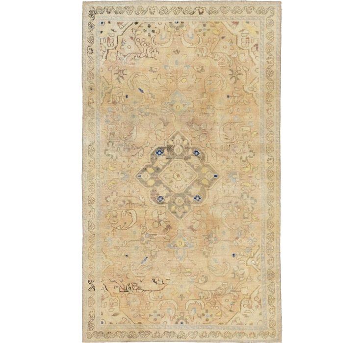 2' 10 x 6' 6 Ultra Vintage Persian R...