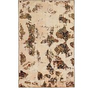 Link to 122cm x 195cm Ultra Vintage Persian Rug
