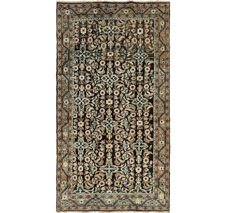 5' x 9' 6 Shahsavand Persian Runn...