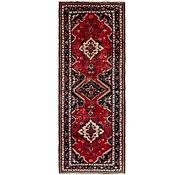 Link to 117cm x 323cm Hamedan Persian Runner Rug