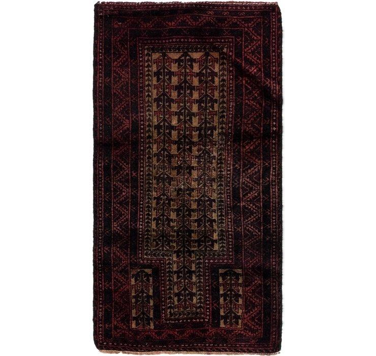 2' 5 x 4' 7 Balouch Persian Rug