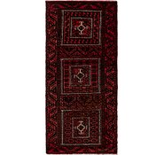 Link to 2' 8 x 5' 10 Balouch Persian Runner Rug