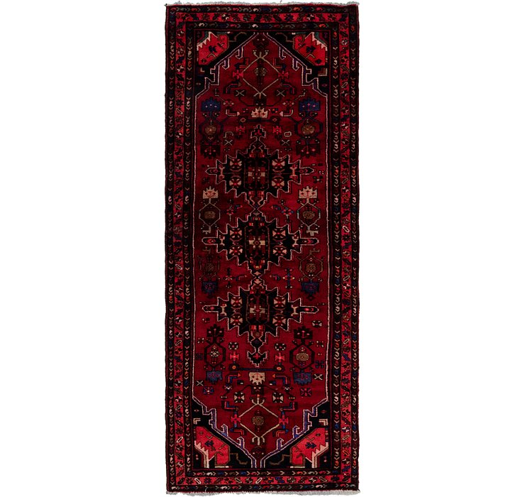 3' 9 x 9' 10 Khamseh Persian Runner ...