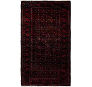Link to 3' 6 x 6' 2 Balouch Persian Runner Rug