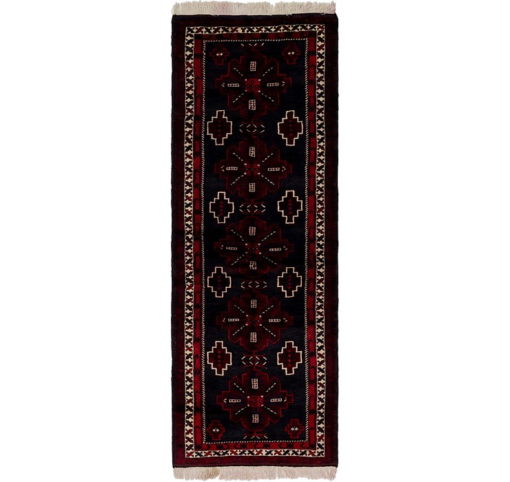 3' 7 x 9' 8 Shahsavand Persian Runn...