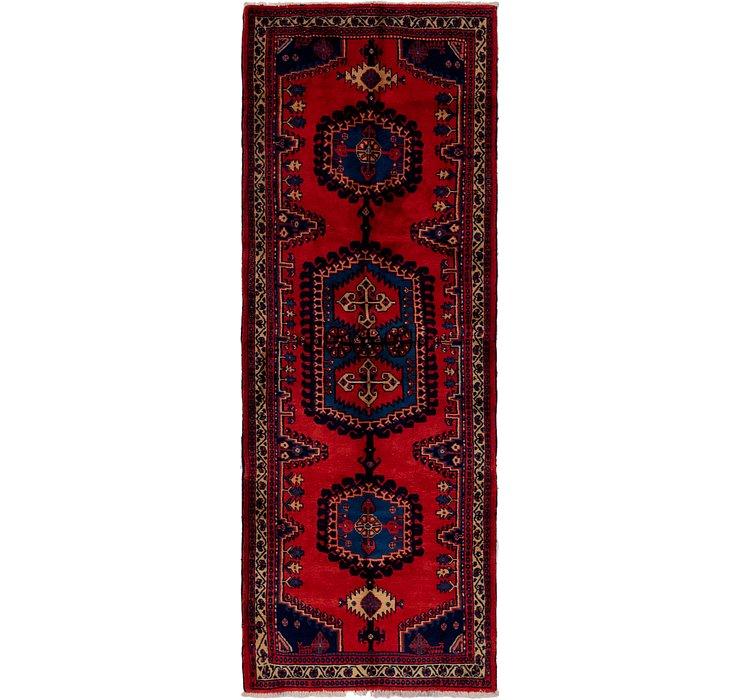 3' 7 x 9' 9 Viss Persian Runner Rug