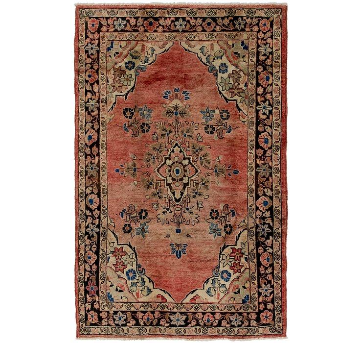 4' 5 x 7' 2 Farahan Persian Rug