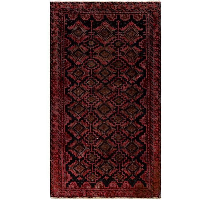 4' x 7' 5 Balouch Persian Rug
