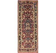 Link to 3' 8 x 9' 10 Meshkabad Persian Runner Rug