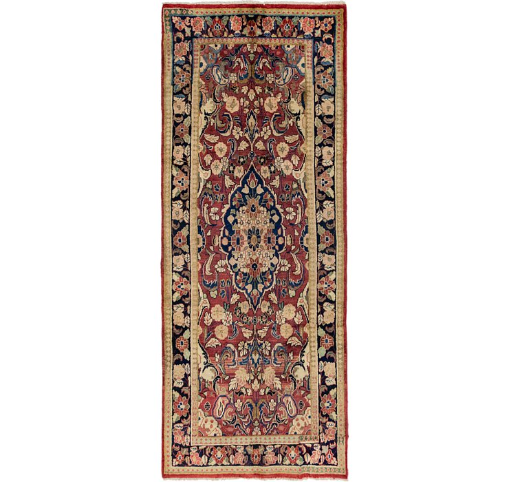 3' 8 x 9' 10 Meshkabad Persian Runne...