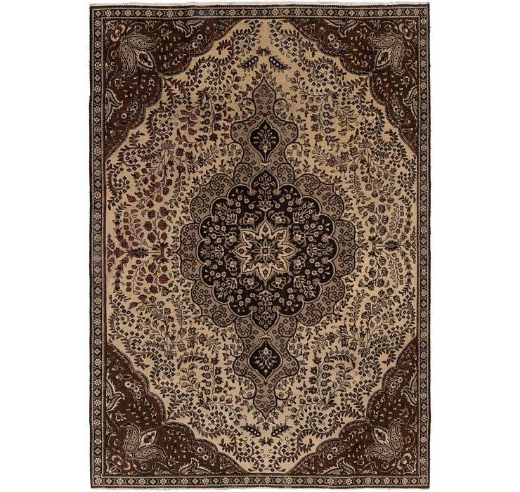 HandKnotted 7' 8 x 11' 2 Tabriz Persian Rug