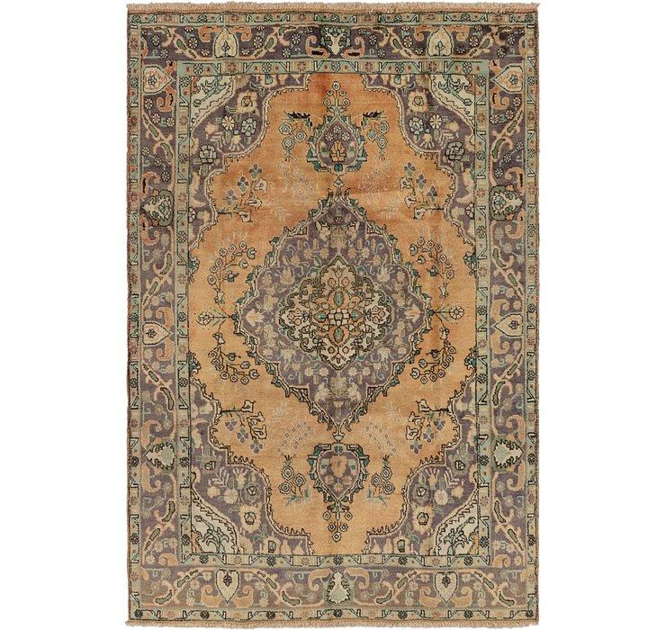 HandKnotted 6' 9 x 9' 10 Tabriz Persian Rug