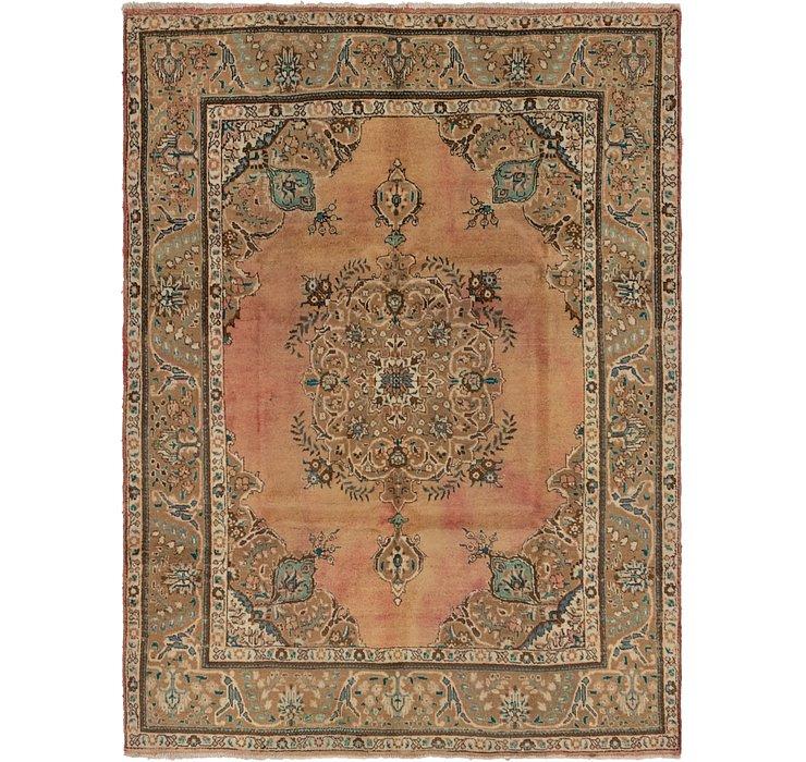 7' 6 x 10' Tabriz Persian Rug