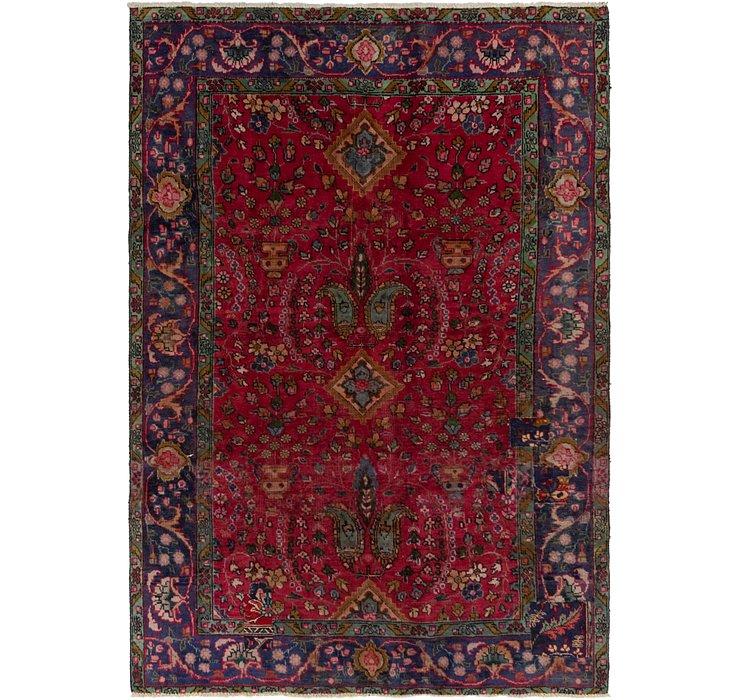 6' 5 x 9' 4 Tabriz Persian Rug