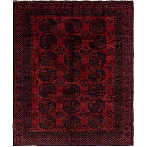 Link to 7' x 8' 2 Afghan Akhche Rug item page