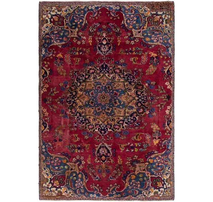 5' 3 x 7' 9 Tabriz Persian Rug