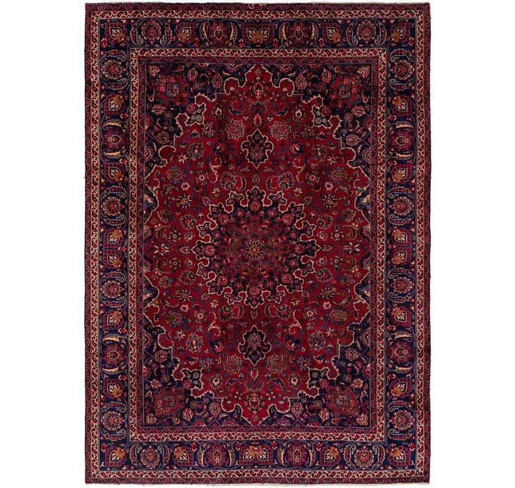 HandKnotted 7' 10 x 11' Mashad Persian Rug