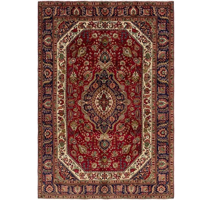 213cm x 305cm Tabriz Persian Rug