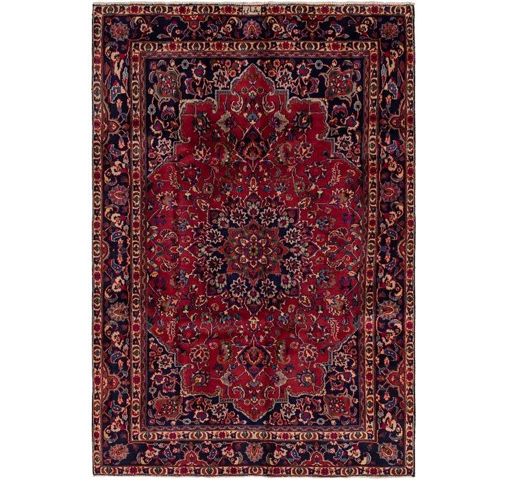 6' 2 x 9' 2 Mashad Persian Rug