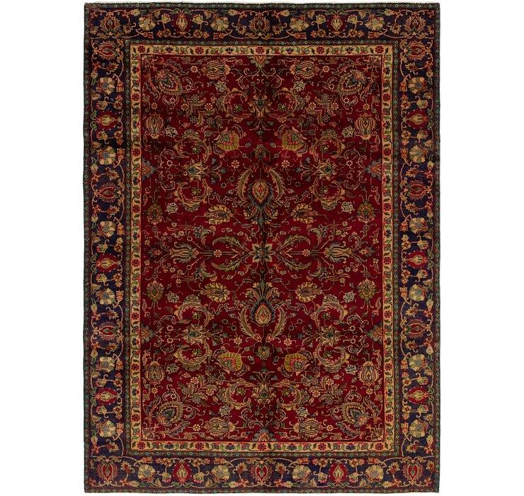 6' 6 x 8' 10 Tabriz Persian Rug
