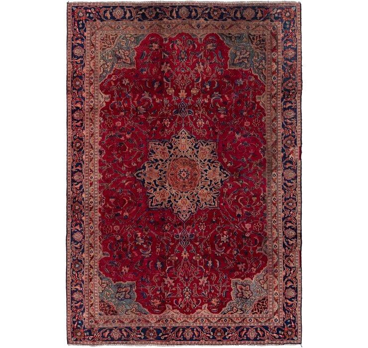 6' x 9' Tabriz Persian Rug