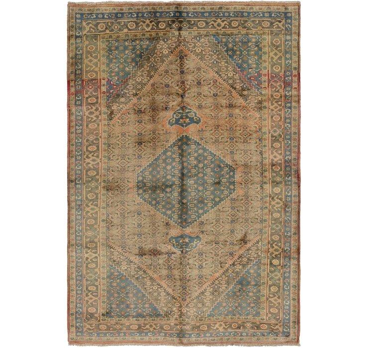 6' 5 x 9' 4 Bidjar Persian Rug