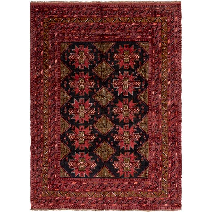 6' 9 x 9' 5 Afghan Akhche Rug