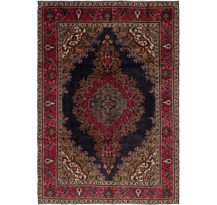 6' 7 x 9' 8 Tabriz Persian Rug