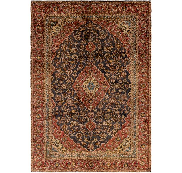 7' 6 x 10' 6 Kashan Persian Rug