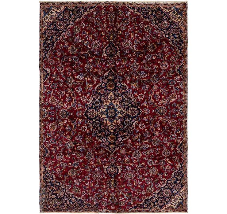HandKnotted 6' 5 x 9' 4 Mashad Persian Rug