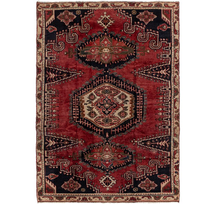 7' 2 x 10' 4 Viss Persian Rug
