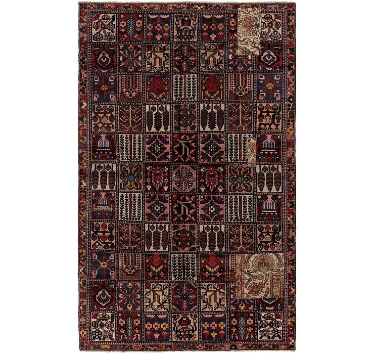 7' x 11' 7 Bakhtiar Persian Rug