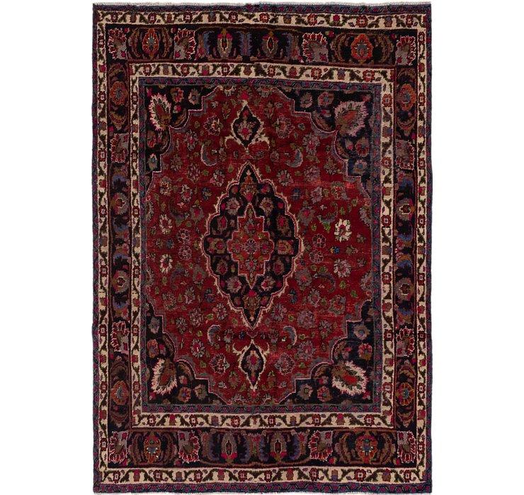 6' 5 x 9' 6 Mashad Persian Rug