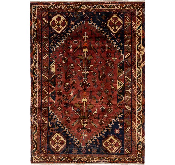 5' 10 x 8' 3 Ghashghaei Persian Rug