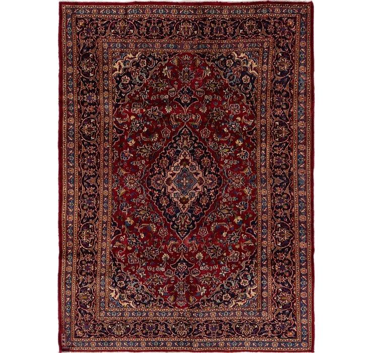 HandKnotted 6' 6 x 9' 2 Mashad Persian Rug