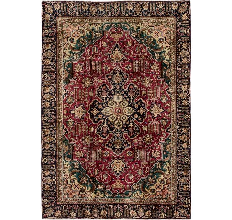 5' 8 x 8' 4 Tabriz Persian Rug